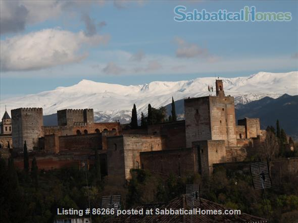 ALBAICIN HOUSE WITH PARKING. WIFI. BEAUTIFUL VIEWS ALHAMBRA Home Rental in Granada, AN, Spain 0